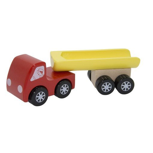 Camion benne rouge Foulon