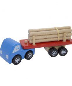 Camion grumier bleu Foulon