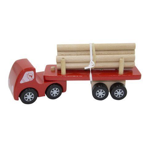 Camion grumier rouge Foulon