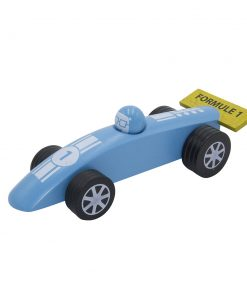 Voiture formule 1 bleue GM Foulon