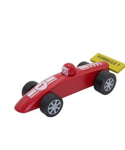 Voiture formule 1 rouge GM Foulon
