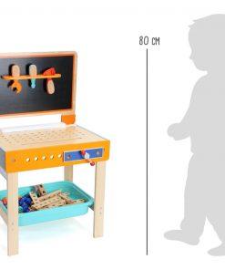 Etabli pour enfants avec table à dessin Legler WB-10603-LR