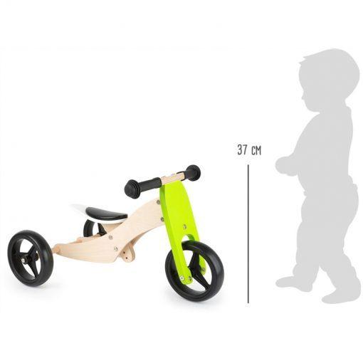 Tricycle-Draisienne Trike 2 en 1 Legler WB-11255-LR