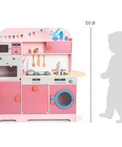 Cuisine pour enfant Rose Gourmet Legler WB-11465-LR