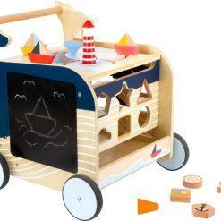 chariot-de-marche-bois-bleu-legler