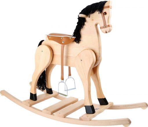 cheval a bascule deluxe en bois legler