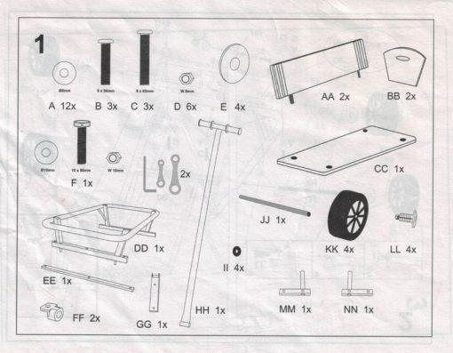 notice chariot bois maxi legler