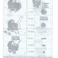 notice montage landau poupee