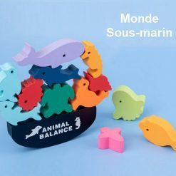 animaux empilables monde marin