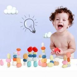 jouet empilables multicolors