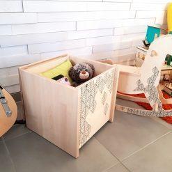 coffre de rangement jouets-peluche ca envoie du bois