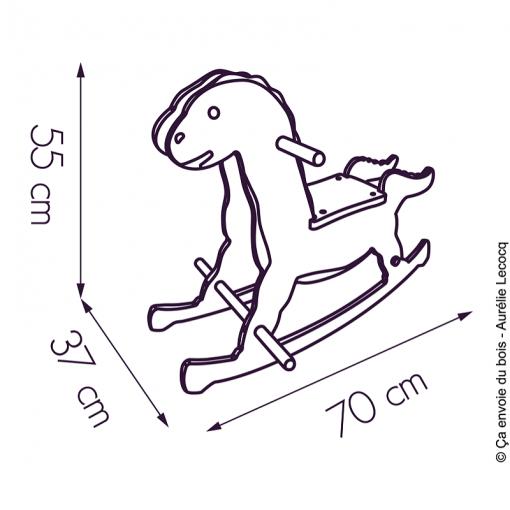 dimensions dinosaure a bascule alienor ca envoie du bois