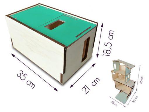 dimensions la maison des ursidae