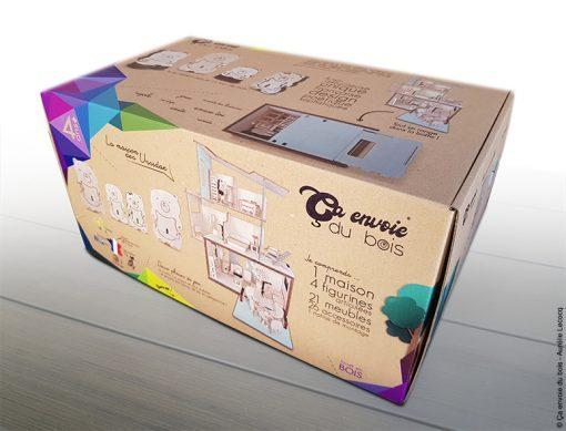 emballage la maison des ursidae