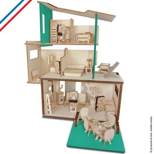 maison de poupee en bois les ursidae
