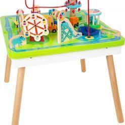 Table de jeu parc attractions 3 en 1 smallfoot